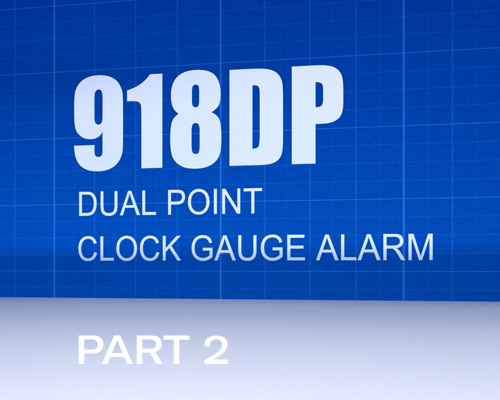 Image of 918DP - Part 2 - Setting the High Level Alarm